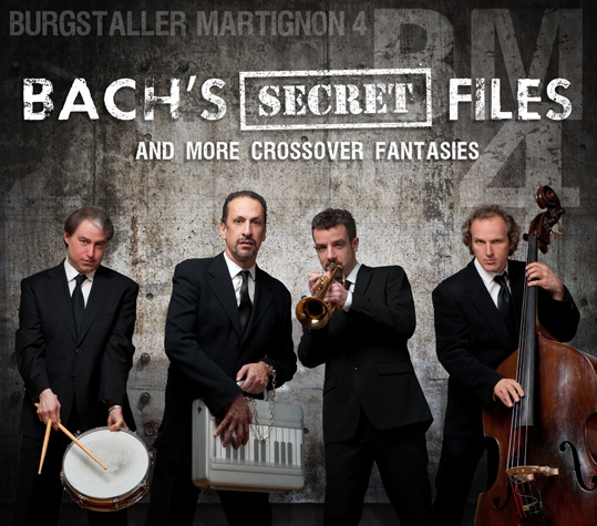 "Featured recording ""Bach's Secret Files & More Crossover Fantasies"""